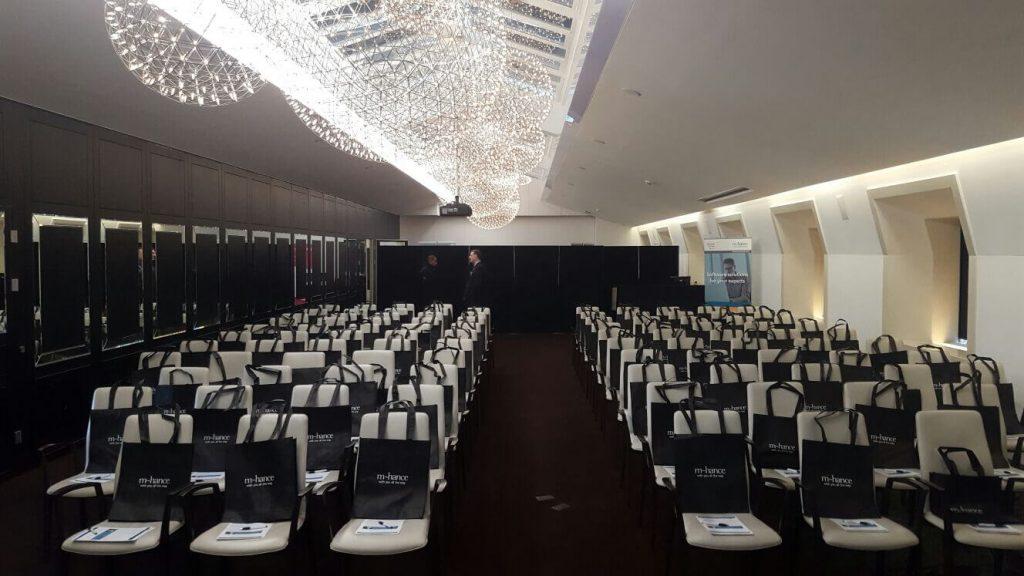 mhance customer event room