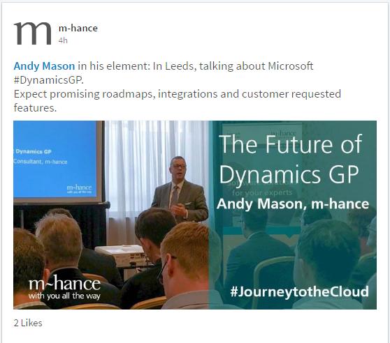 andy mason future of dynamics gp presentation