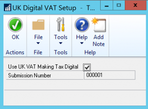 Tick the box to confirm your GP company will be submitting VAT Returns via HMRC's MTDfV portal